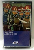 The Who Odds & Sods 1980s reissue cassette