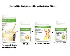 HERBALIFE Quick Start Weight Loss Program Kit with Active Fiber