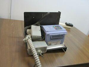 Hitachi L100 AC Drive L100-004MFR2 1/2HP Used