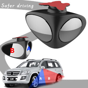Car Front&Rear Blind Spot Parking Multi-purpose Auxiliary Rear View Wheel Mirror