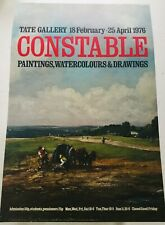 CONSTABLE (John Constable) Tate Gallery London Exhibition Poster 1976, Rare