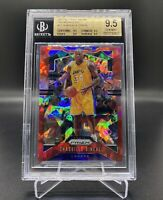 2019/20 NBA PANINI PRIZM RED ICE SHAQUILLE O'NEAL #11 BGS 9.5 TRUE 💎 MINT