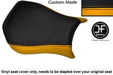 Amarillo y Negro personalizado de vinilo cabe DUCATI Monoposto 748 916 996 998 Cubierta de asiento