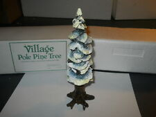 DEPT 56  VILLAGE POLE PINE TREE 8 INCH #5528-0 VERY GOOD CONDITION