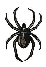 Black Widow Spider Iron On Patch Cosplay Biker Costume Patch