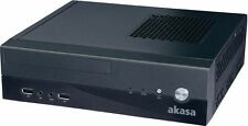 Akasa Crypto Vesa Mini-ITX Case inkl. 80 Watt Netzteil (AK-ITX03BK08EU) * NEU