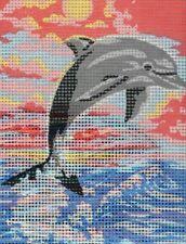Grafitec Needlepoint Tapestry Kit - Leaping Dolphin