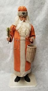 """Saint Nicholas Santa by Two Sisters Studios NEW Christmas Candy Container 26 """""""