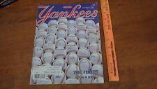 NEW YORK YANKEES SPECIAL ISSUE MAGAZINE NOV 3,1983  BX 305