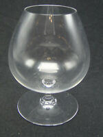 Baccarat Perfection Large Bandy Snifter Glasses 5 3/4in clear crystal