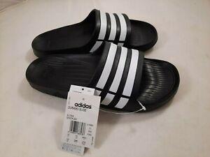 Adidas Duramo Black & White Men Summer Beach Sandal Slide