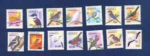 DOMINICA  - 2319-2332 - FVF MNH -  BIRDS - 2001