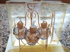 3 vaporisateurs de sac non rechargeables + paravent + boite de Lolita Lempicka