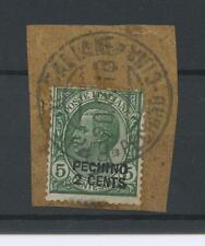 OCCUPAZIONI PECHINO 1917 2C. SU 5C. 3 US.