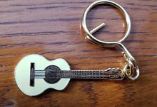 CLASSICAL  GUITAR KEYCHAIN key chain brass  **CLEARANCE**