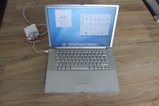 Apple PowerBook G4 (15 Zoll) Laptop - A1106 - guter Zustand - Akku defekt