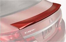 Genuine Factory OEM Honda Civic 4Dr Sedan Deck Lid Spoiler 2013 - 2015