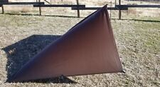 Ultra Light Jimmy Tarps 6 X 9 Shelter Coyote Brown Color