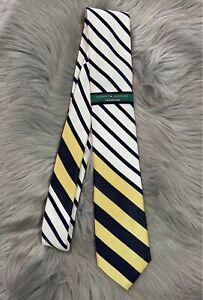 NWT Tommy Hilfiger Vintage Slim Stripe Mens Tie 100% Silk Nice! NEW!