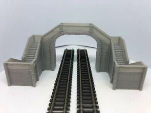 N Gauge Double Track Footbridge