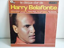 Le disque d or HARRY BELAFONTE 740522 ARC EN CIEL