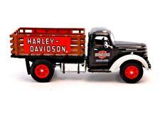 Matchbox  Harley-Davidson 1937 International DR60 1:43 Stake Truck in box