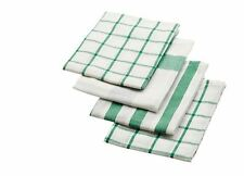 IKEA 4 tea towel kitchen White and Green ELLY-NEW