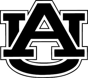 """University of Auburn Decal """"Sticker"""" for Car or Truck or Laptop"""