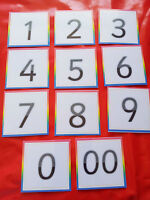 NUMBERS - 11 FLASH CARDS - EYFS - FIRST LEARNING - DISPLAY - TEACHING RESOURCE