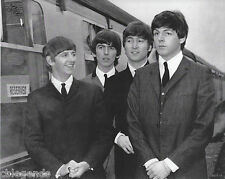 "BEATLES   ""A HARD DAYS NIGHT""  1964   8""x10""  B & W  Photo Copy BEA-14"