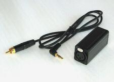 XLR Balanced Mic to 3.5 mm adaptor for DVcam/DSLR/SD Recorder/MD recorder
