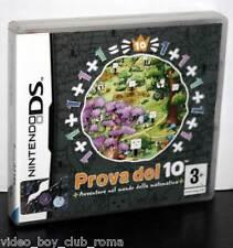 PROVA DEL 10 GIOCO USATO OTTIMO STATO DS & 3DS EDIZIONE ITA TRIANGOLO BLU MM1