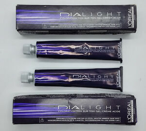 2x Loreal Dialight 6.46 dunkelblond kupfer rot Haarfarbe Creme /5-9135/