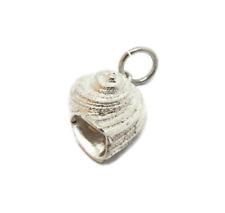 Snail Pendant Charm .925 Sterling Silver