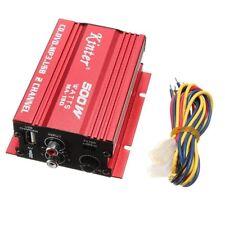 kinter Mini Hi-Fi Stereo Audio Amplifier Amp Subwoofer For Car Motorcycle 2 F4E2