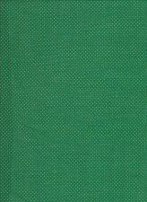 Green / Gold Cotton Christmas Print Cotton Fabric