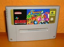 SNES SUPER NINTENDO BOMBERMAN 2