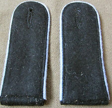 WWII GERMAN WAFFEN EM SANI MEDIC MEDICAL M40 M42 TUNIC SHOULDER BOARDS-PAIR c3q