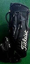 New listing Titleist Lightweight 6-Way Dual Strap Golf Stand Bag Black/White