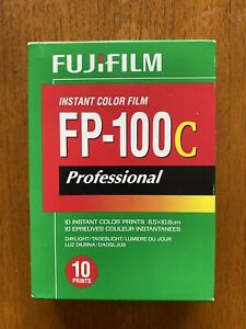 Fujifilm FP-100C Colour Film (Cold Stored)
