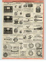 1922 PAPER AD Toy Movie Moving Picture Music Box Boxes Blow Accordions