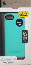 "iPhone 7 ~OtterBox SYMMETRY ""Candy Shop"" Green Coral Orange Case ~Reg $40"