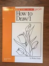 How to Draw/1 by Walter Foster