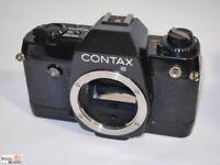 Contax 137 MD Quartz body Spiegelreflex SLR Kleinbildfilm 35mm