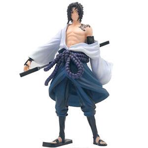 "Naruto Shippuden Uchiha Sasuke 9"" Action Figure Collection Model Toy Kids Gift"