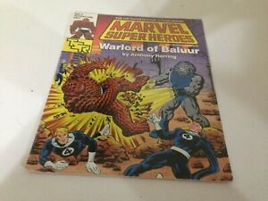 Marvel Super Heroes Warlord Of Baluur RPG Game Adventure Fantastic Four TSR NEW!