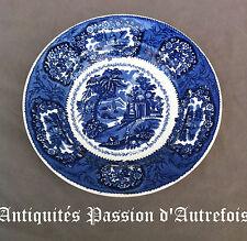 B20150929 - Assiette creuse en faïence de Maastricht décor Oriental