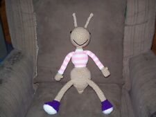Crochet 15 in Ant animal insect doll toy handmade