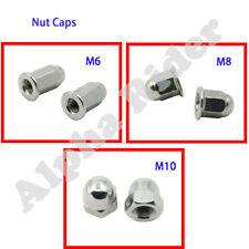 Dome Acorn Cap Nut M6 M8 M10 Thread Nut For Honda NC700 CB600 Yamaha BMW r1250gs