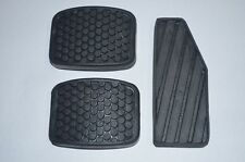 Suzuki Sidekick Rubber Brake, Accelerator, Clutch Pedal Covers NEW Free Ship